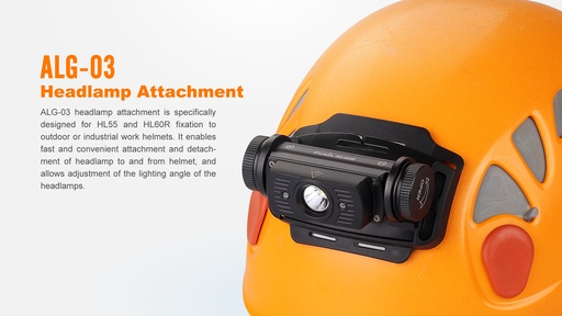 ALG-03 Headlamp Attachement