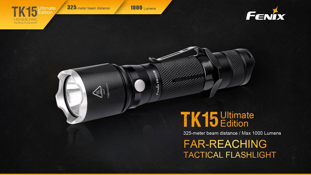 Fenix Digital TK15UE LED Tactical Flashlight