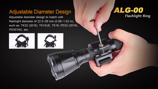 Fenix Tactical Ring Mount ALG-00