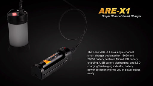 Fenix ARE-X1 USB Charger