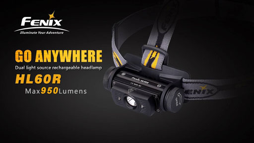 Fenix HL60R Headlamp