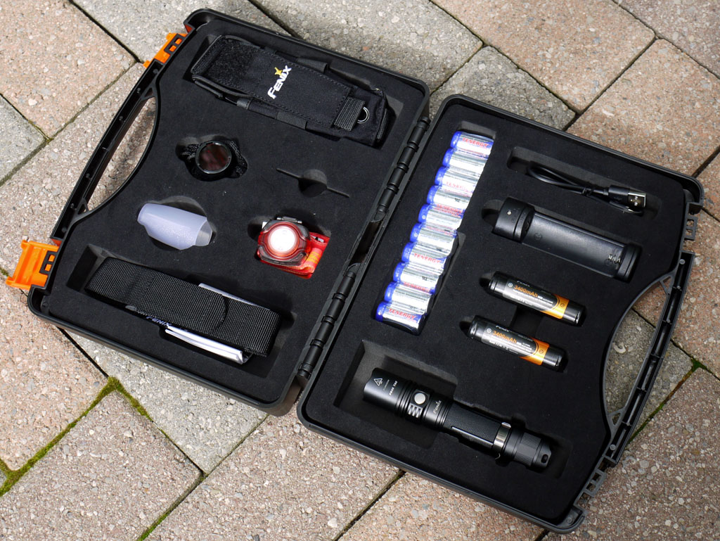 Fenix Tactical Adventure Kit
