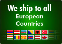 We ship to all European Countries